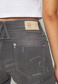 G-Star - LYNN MID SKINNY - Jeans Skinny Fit - slander grey superstretch - 5