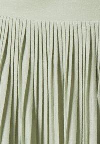 Vila - VIPLISS SKIRT - Pleated skirt - desert sage - 2