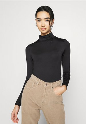FANCY - Long sleeved top - black
