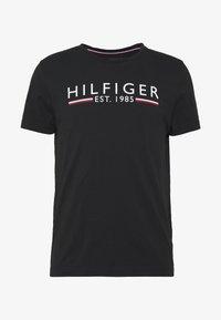 Tommy Hilfiger - TEE - Camiseta estampada - black - 3