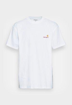 AMERICAN SCRIPT  - T-shirt med print - white