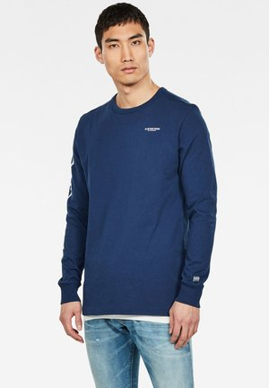 SHIELDS - Long sleeved top - imperial blue