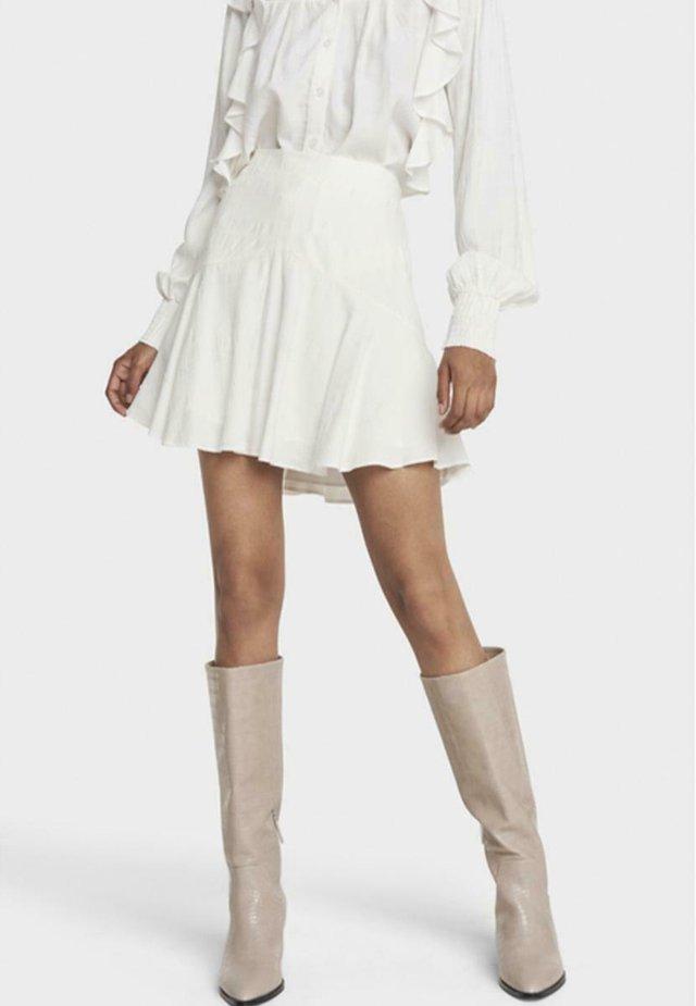 A-lijn rok - soft white