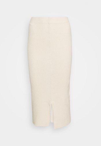 Pencil skirt - sandshell