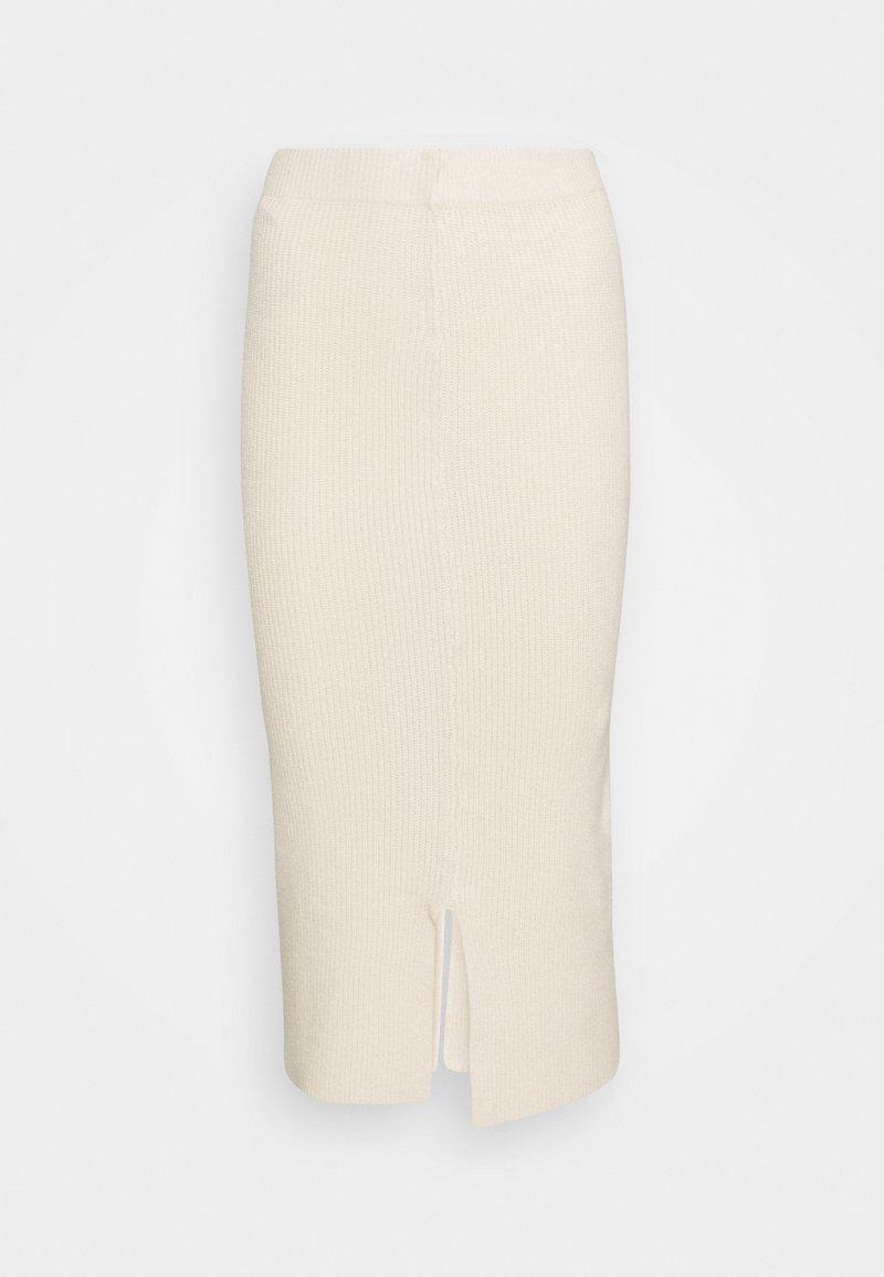 Selected Femme - Pencil skirt - sandshell
