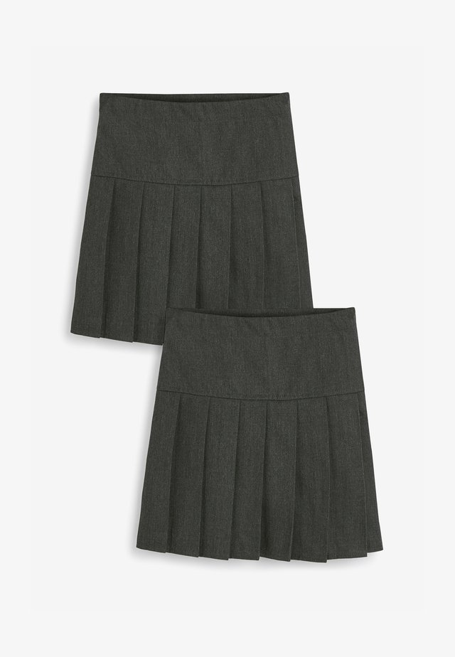 2 PACK - A-line skirt - grey