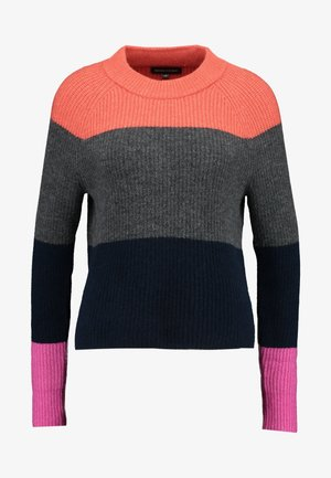 AIRE CREW COLOR BLOCKING - Strickpullover - pink