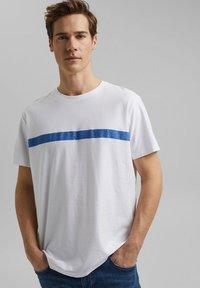 edc by Esprit - Print T-shirt - white - 0