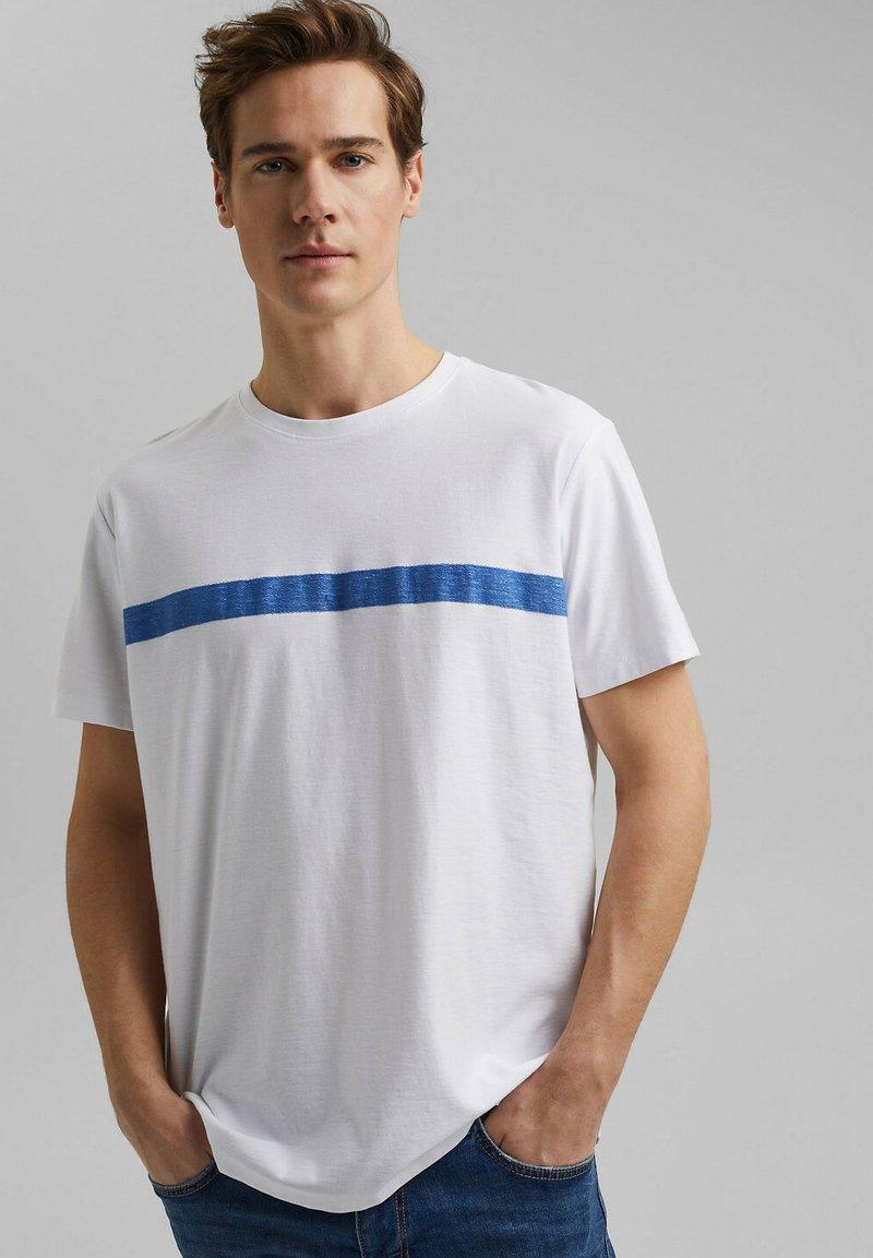 edc by Esprit - Print T-shirt - white