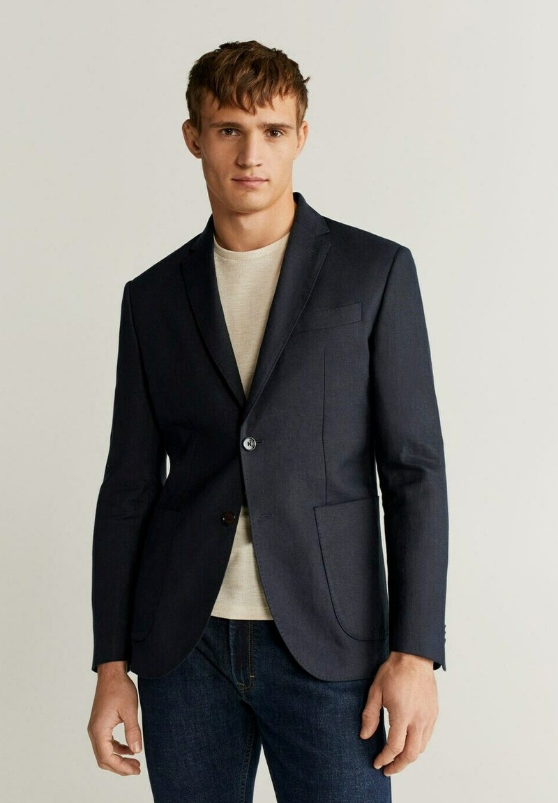 Mango - COLA - Blazer jacket - blau