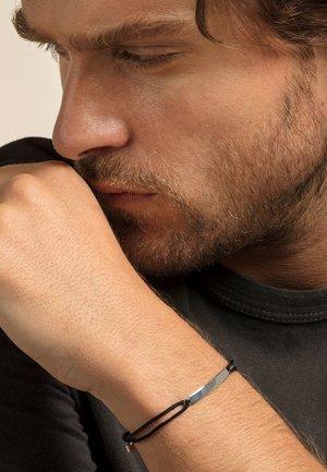 LITTLE SECRET CLASSIC - Armband - silver-coloured/black