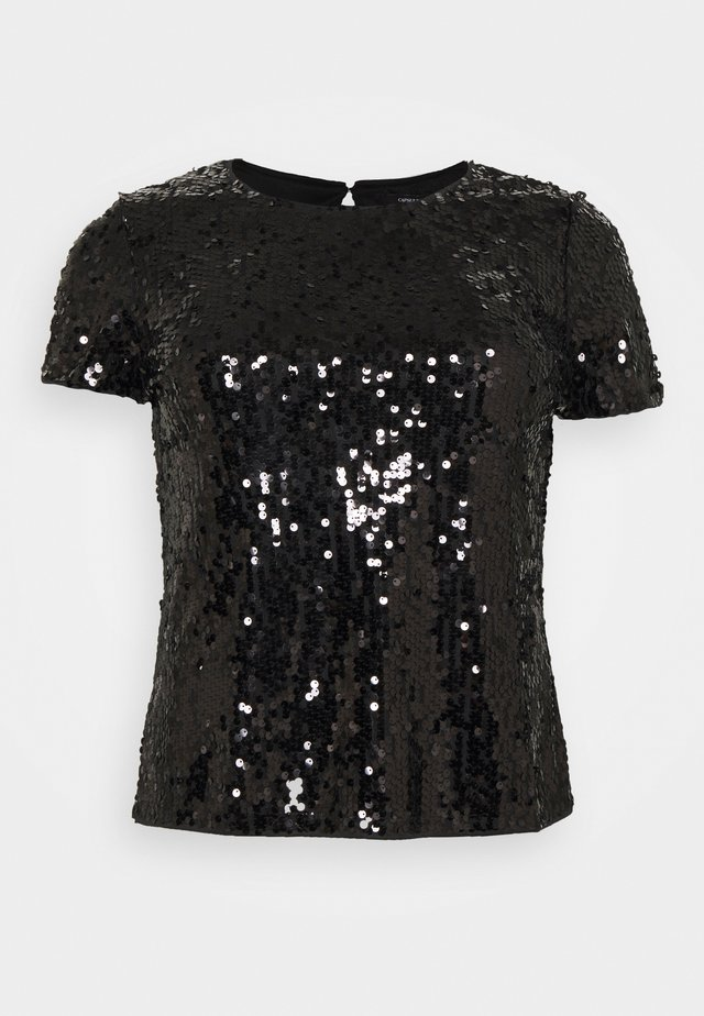 VALUE SEQUIN  - T-shirt imprimé - black