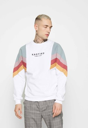 UNISEX CREW SEATTLE - Sweatshirt - blanco