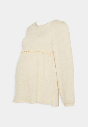 MLCALIFORNIA - Long sleeved top - ecru