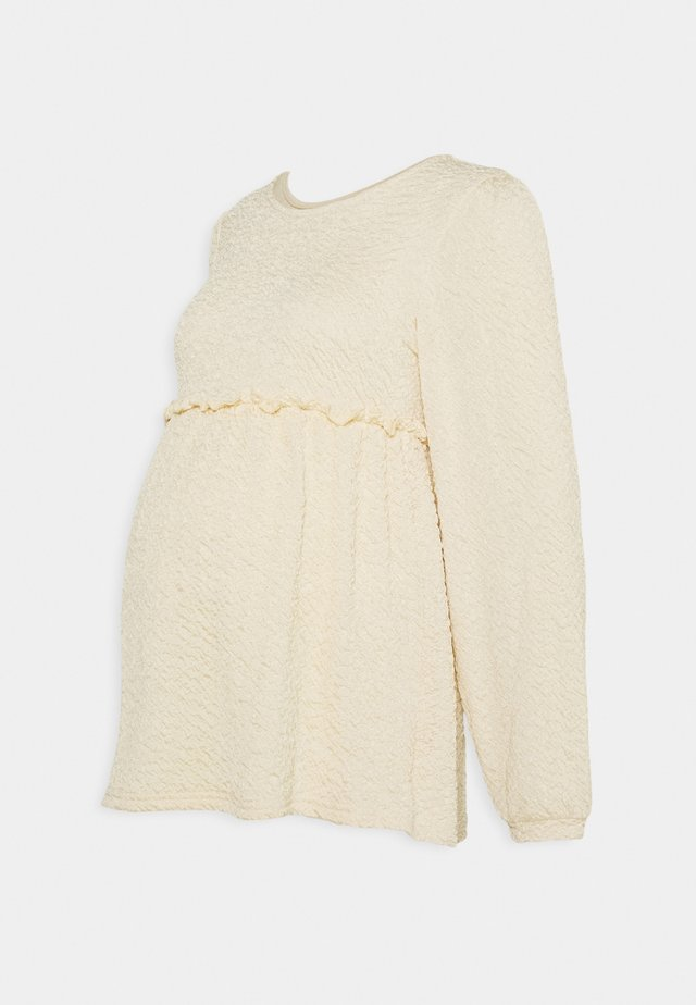 MLCALIFORNIA - Maglietta a manica lunga - ecru