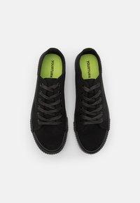 YOURTURN - UNISEX - Sneakers basse - black - 3