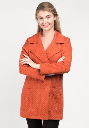 ELAINE - Short coat - red