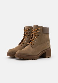 Timberland - KINSLEY 6 IN BOOT - Schnürstiefelette - dark beige - 2