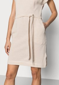 Esprit - DRESS  - Jersey dress - sand - 3