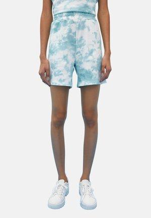 Shorts - blue printed