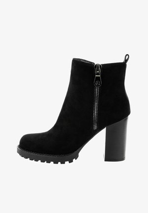 PALERMO  - High heeled ankle boots - black