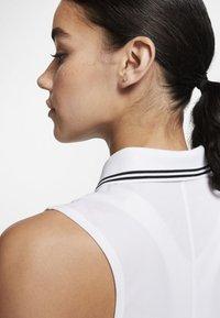 Nike Golf - DRY VICTORY - Sports shirt - white/black - 4
