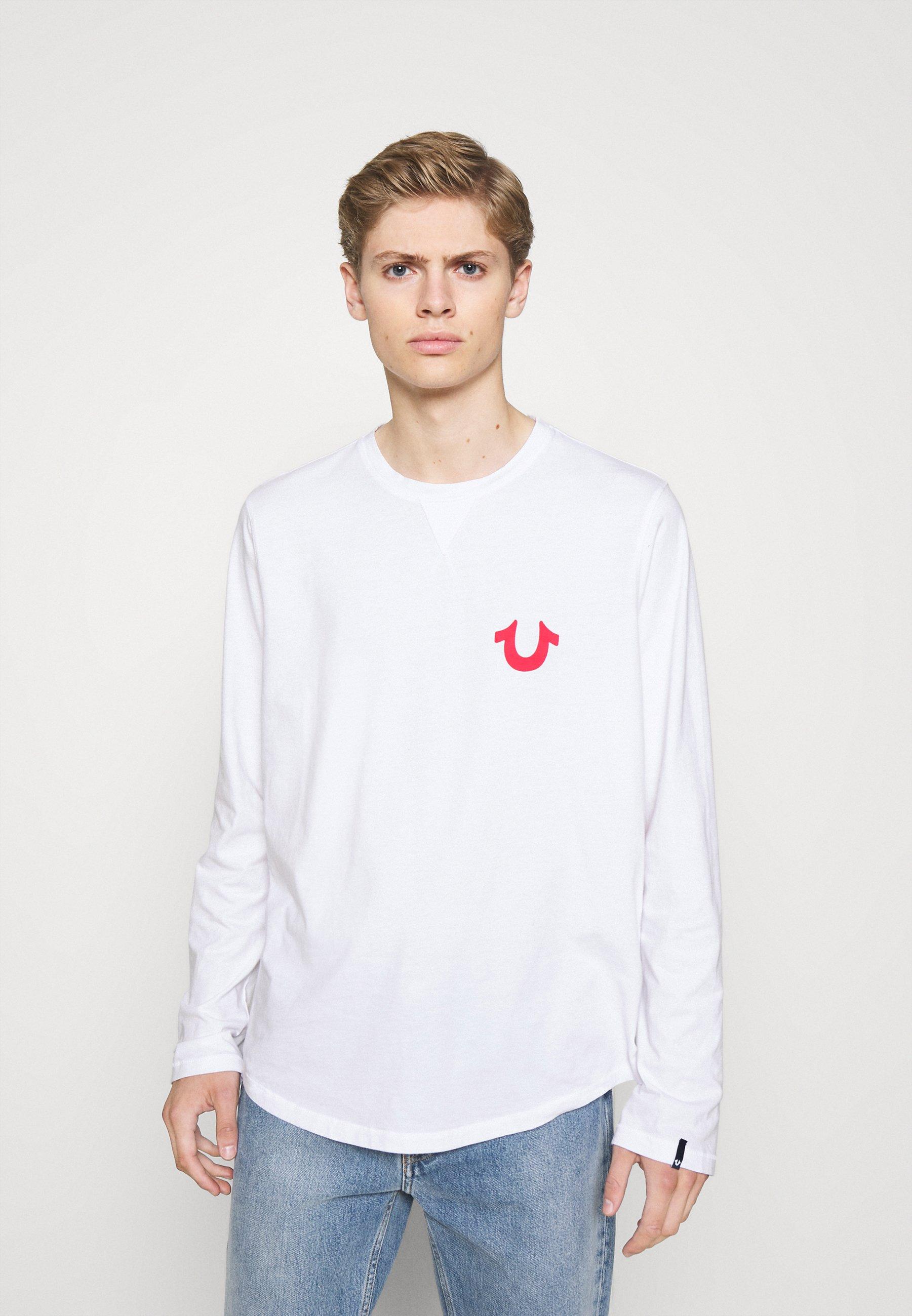 Men LOGO ON BACK - Long sleeved top