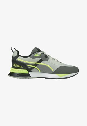 MIRAGE MOX TECH VEGAN UNISEX - Trainers - white black yellow alert