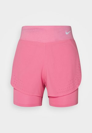 ECLIPSE 2 IN 1 - Short de sport - pink glow