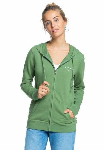 Zip-up sweatshirt - vineyard green