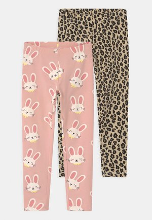 MINI 2 PACK - Leggings - Trousers - light dusty pink
