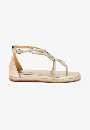 DEVON - T-bar sandals - gold