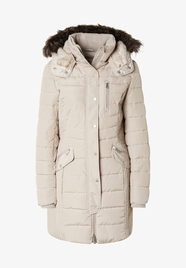 MIT KAPUZE - Winter coat - silver grey