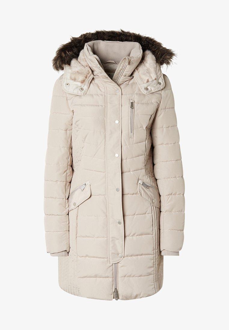 TOM TAILOR - MIT KAPUZE - Winter coat - silver grey