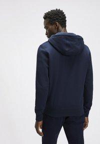 North Sails - Zip-up hoodie - navy blue - 1
