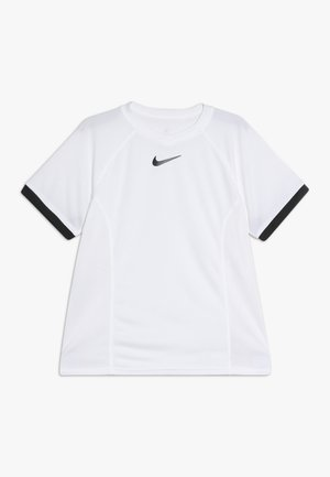 DRY - T-shirt print - white/black