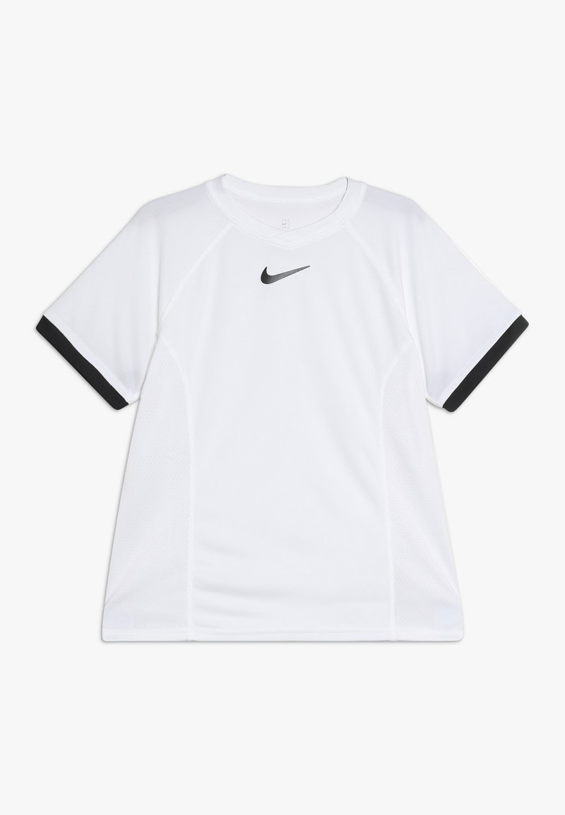Nike Performance - DRY - Print T-shirt - white/black