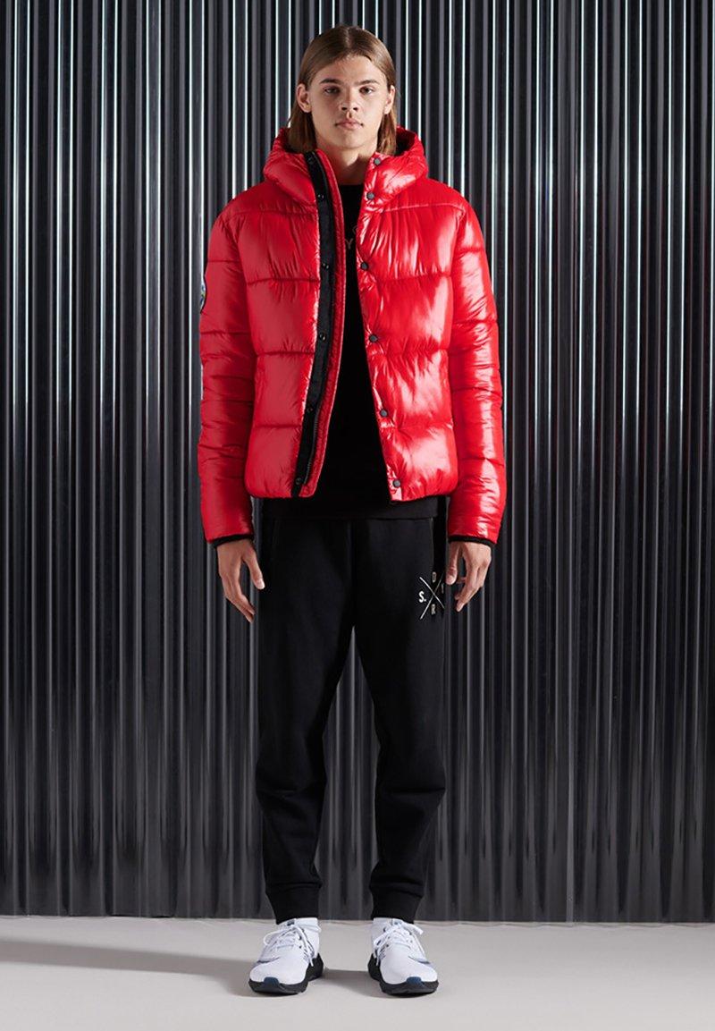 Superdry - Winterjas - rouge red