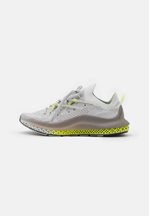 4D FUSIO UNISEX - Tenisky - grey one/grey six/solar yellow