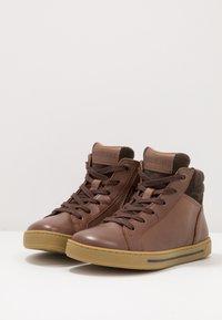 Birkenstock - PORTO - High-top trainers - brown - 3