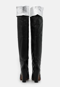 Toral - LAVA - High heeled boots - black/silver - 3
