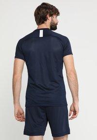 Nike Performance - DRY ACADEMY - Print T-shirt - obsidian/white - 2
