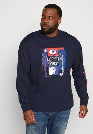 PLUS INTERWEAVING  - Langærmede T-shirts - navy