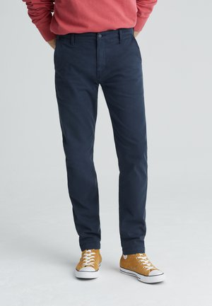 XX CHINO SLIM FIT II - Chinosy - baltic navy shady