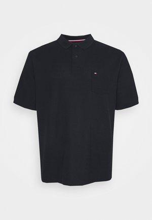 STRUCTURED POCKET - Polo shirt - desert sky