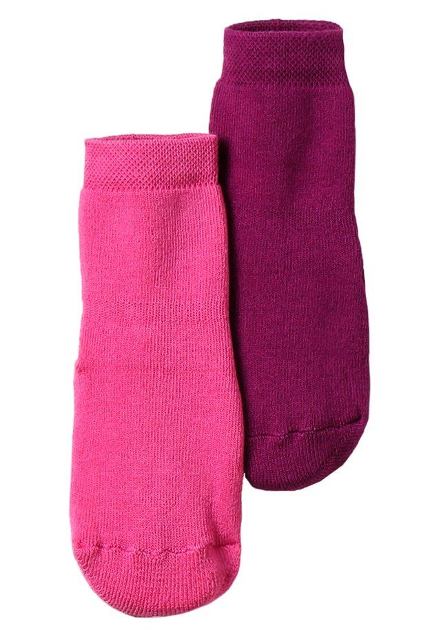 STOPPERSOCKE 2 PACK - Socks - phlox/purple