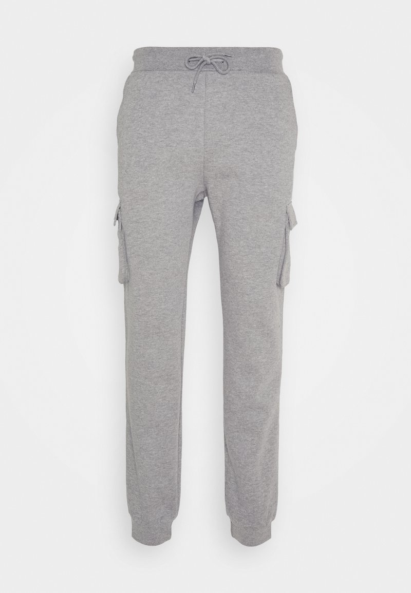 YOURTURN - UNISEX - Tracksuit bottoms - mottled light grey