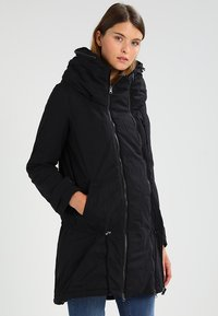 MAMALICIOUS - TIKKA CARRY ME PADDED JACKET - Abrigo de invierno - black - 3