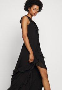MICHAEL Michael Kors - SOLID RUFFLE MAXI - Occasion wear - black - 5