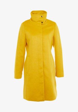 FEMININE COAT - Classic coat - amber yellow